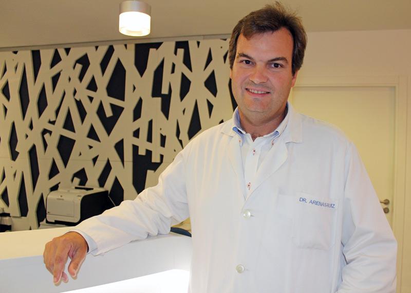 Dr. Juan Arenas, especialista en Aparato Digestivo de Policlínica Gipuzkoa