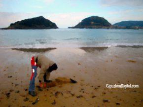 Foto-GipuzkoaDigital.com-© Las piedras de la Playa de Ondarreta