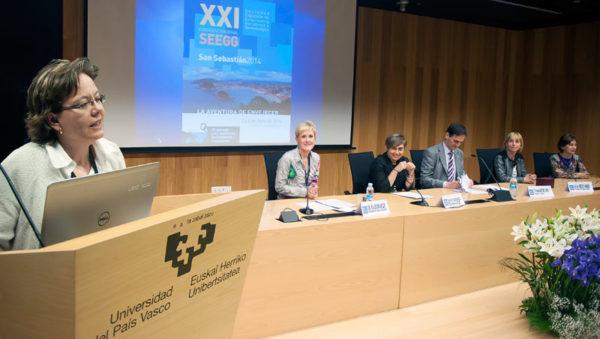 fotografía de la clausura del XXI Congreso Nacional SEEGG