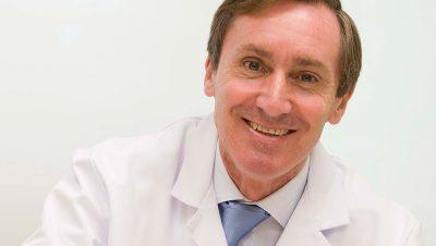 FOTO del cardiólogo Eduardo Alegría, Jefe del Servicio de Rehabilitación Cardiaca de Policlínica Gipuzkoa.