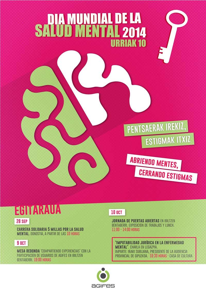 Agifes Día Mundial de la Salud Menta