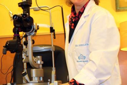 fotografía de la oftalmóloga Mercedes Zabaleta