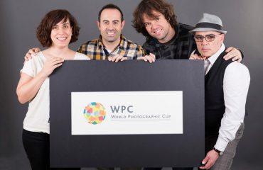 De izquierda a Derecha, Argi Aramberri, Dani de Pablos, Iñigo Sierra y Joseba Apezetxea