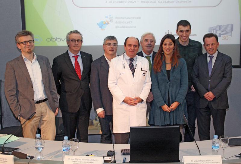 """fotografía de la mesa redonda sobre """"Los Ciudadanos y la Tecnología Sanitaria"""""""