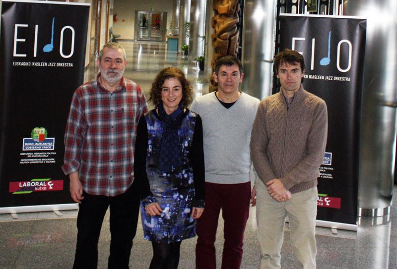 Joven Orquesta de Jazz de Euskadi, EIJO