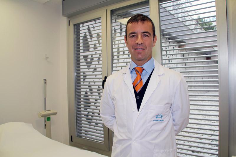 fotografía del Dr. Alberto Marqués.