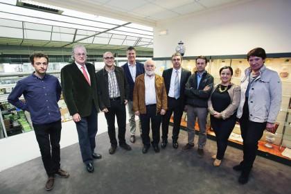 FOTO: Responsables de las entidades participantes en el Programa Sinergia Parkinson.