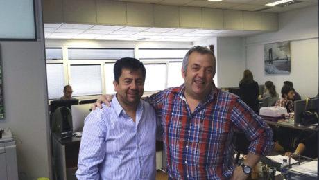 En la imagen Jaime Almanza, fundador de Genius Tours, y Jon Arriaga, fundador de Dit Gestión, empresas que promueven al 50% la sociedad mixta Grupo Sitea.