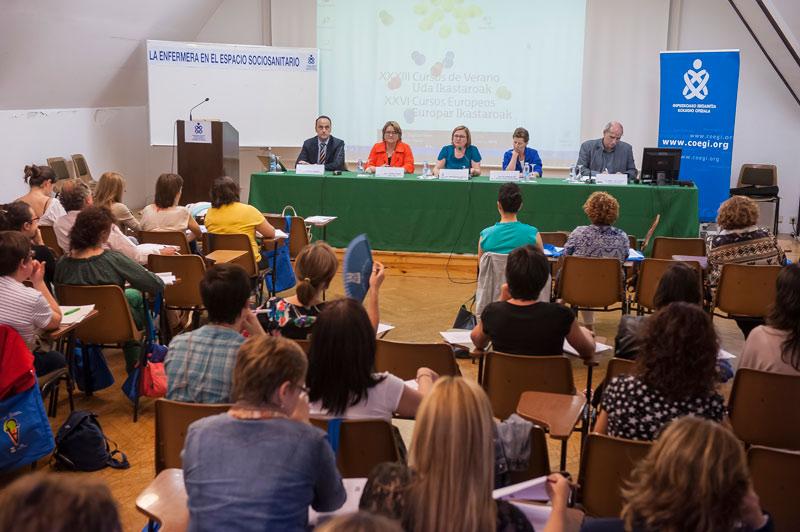 OTO de ARCHIVO: Imagen de la Jornada profesional organizada por el COEGI en los Cursos de Verano de 2014.