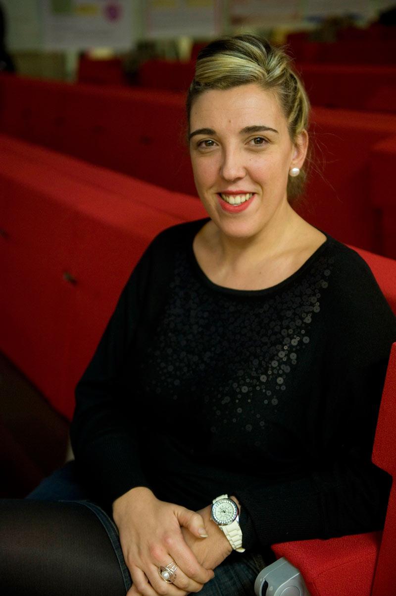 FOTO: Raquel Ule, enfermera que participará en la conferencia de hoy