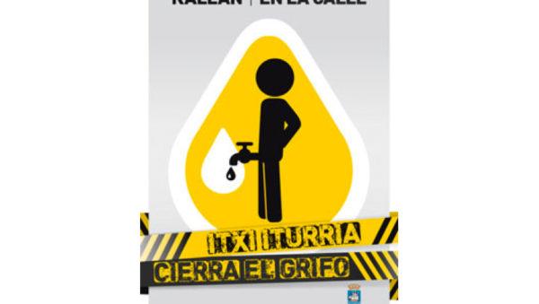 """Itxi iturria – Cierra el grifo"" Donostia San Sebastián Semana Grande 2015"