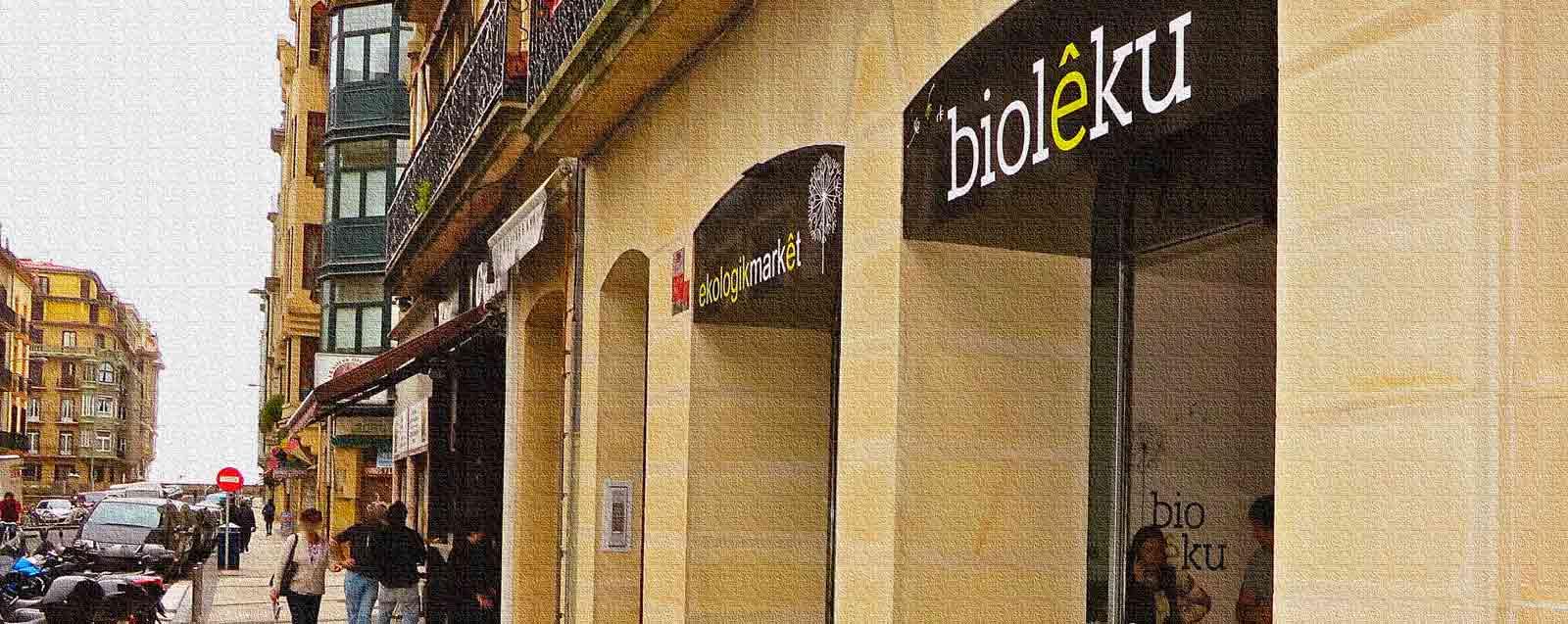 BioLeku ekologikmarket Supermercado Biológico en Donostia San Sebastián