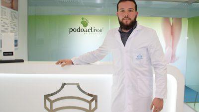 imagen de Antonio Martínez, podólogo de la Unidad del Pie de Policlínica Gipuzkoa y Podoactiva.