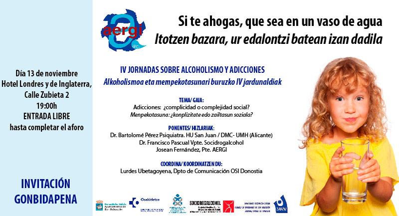CARTEL-DE-LAS-JORNADAS-Alcohólicos-y-Adictos-en-Rehabilitación-de-Gipuzkoa-AERGI