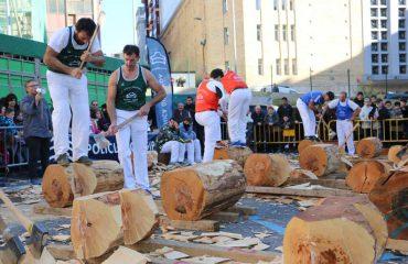 Foto IV Torneo Policlínica Gipuzkoa de Aizkolaris