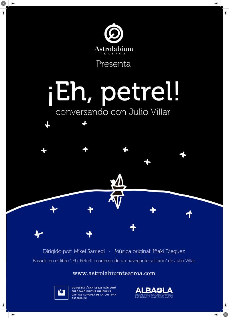ALBAOLA Y SAN SEBASTIÁN 2016 PRESENTAN ¡EH, PETREL!