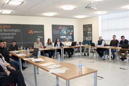 FOTO: Imagen tomada en el inicio de las jornadas de SPYRO con sus partners y colaboradores.