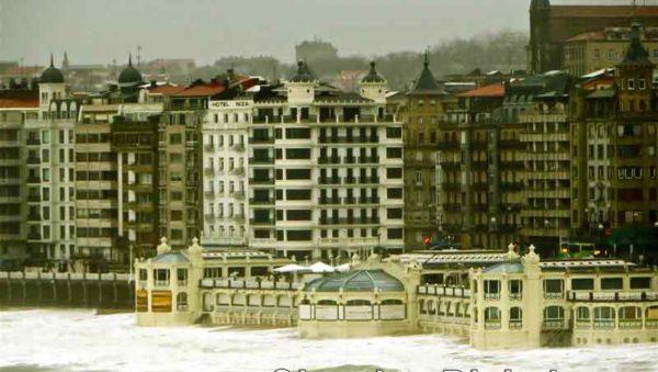 La Concha Foto GipuzkoaDigital.com Donostia San Sebastián