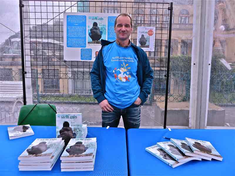Todos los azules Santi Maldonado Foto GipuzkoaDigital.com Donostia San Sebastián