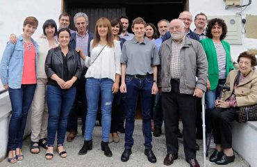FOTO: Varios de los socios de FEUSE durante la Asamblea celebrada hoy.