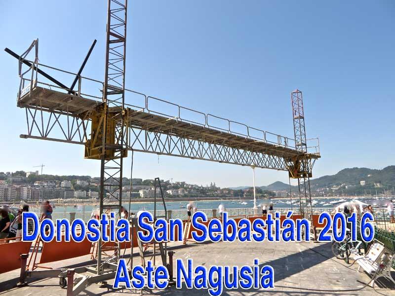 Foto GipuzkoaDigital.com Donostia San Sebastián Aste Nagusia 2016 Semana Grande