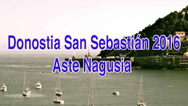Donostia San Sebastián 2016 Aste Nagusia Foto GipuzkoaDigital.com Donostia San Sebastián