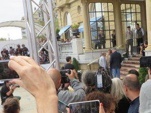 Richard Gere llega al Zinemaldia 2016 Foto GipuzkoaDigital.com Donostia San Sebastián
