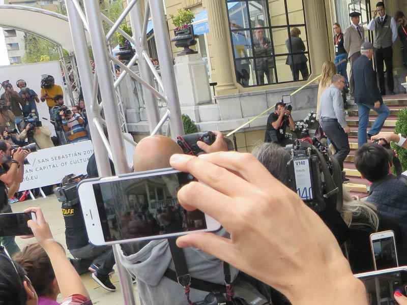 Richard Gere llega al Zinemaldia 2016