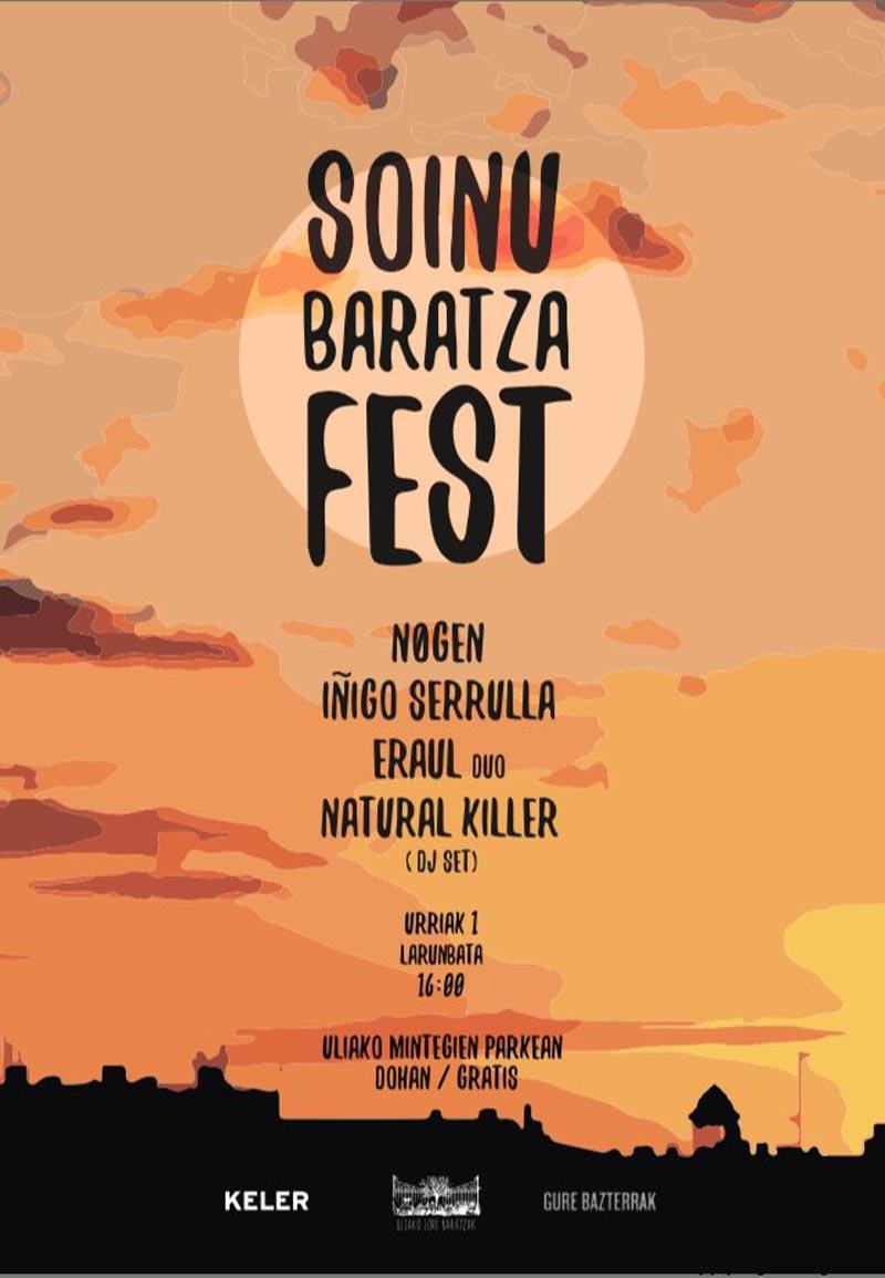 Soinu Baratza Fest Donostia San Sebastián 2016