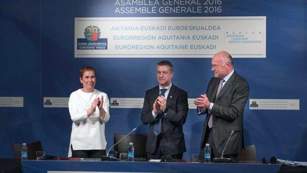 Eurorregión Aquitania-Euskadi Foto fuente Irekia