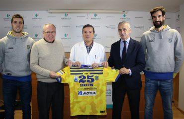 imagen de izda a dcha: Jon Azkue, José Ángel Sodupe, Ricardo Jiménez, Joseba Vidorreta y Asier Zubiria.