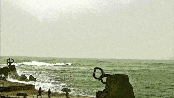 Peine del Viento Chillida Foto GipuzkoaDigital.com Donostia San Sebastián