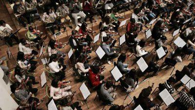 Euskadiko Ikasleen Orkestra Txikia Foto fuente Irekia