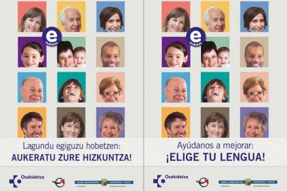 atención sanitaria tanto en castellano como en euskera Foto fuente Irekia Gobierno Vasco