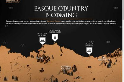 BASQUE COUNTRY IS COMING Juego de Tronos