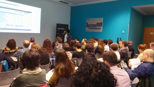 FOTO: Imagen de la sesión formativa celebrada esta mañana en la sede central de SPYRO.