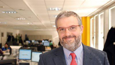 Hispavista foto de su director general Unai Elosegui