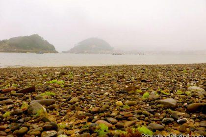 GipuzkoaDigital.com Las Piedras de la Playa de Ondarreta foto 22 Junio 2017