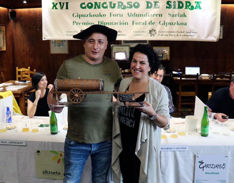 XVI edición del Concurso de Sidra de la Diputación Foral de Gipuzkoa Foto Diputación Foral de Gipuzkoa
