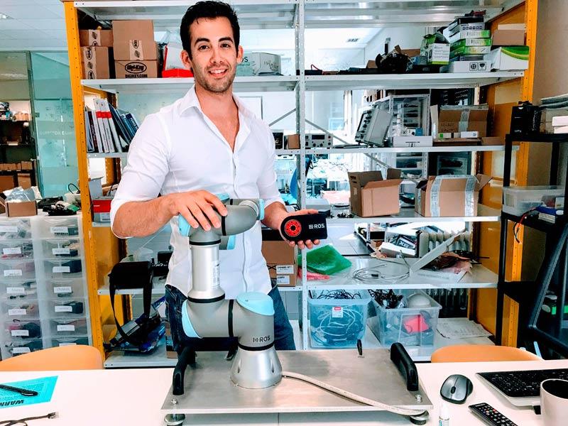 Victor Mayoral, de Erle Robotics, nominado a los Premios 'Emprendedores Menores de 35', los 'Oscar de la Innovación y la Tecnología'