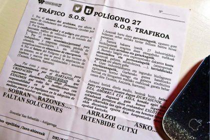 Polígono-27-S-O-S- Donostia San Sebastián Euskadi Basque Country