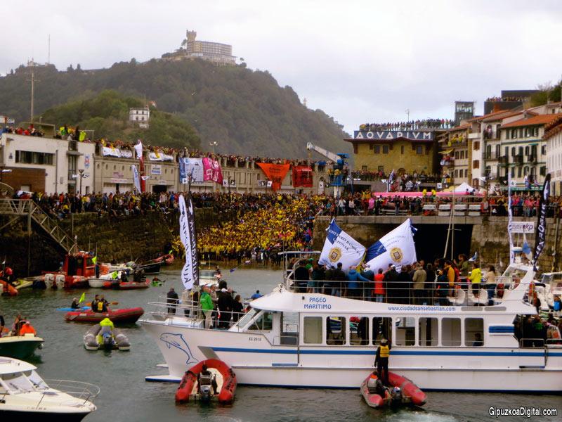 Regatas Bandera de la ConchaDonostia San Sebastián 2017 Foto GipuzkoaDigital.com Donostia San Sebastián