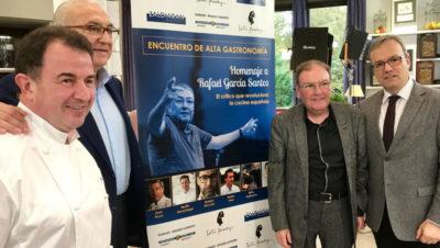 Presentación Homenaje Rafael García Santos