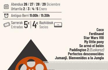 Zinegabonak aterriza en los cines Príncipe