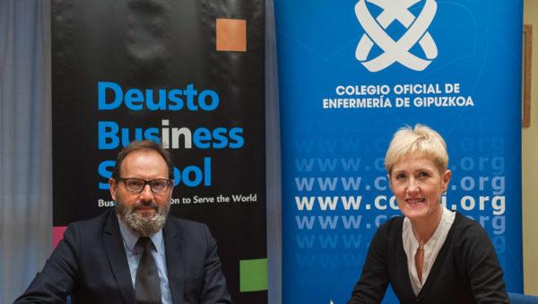 Colegio de Enfermería de Gipuzkoa y Universidad de Deusto ponen en marcha la primera Masterclass sobre Gestión y Liderazgo en Enfermería