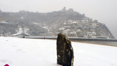 Donostia-San-Sebastián-Nevada-28-2-2018-Las-Piedras-de-la-Playa-de-Ondarreta-2