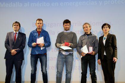 Mérito en Emergencias y Protección Civil, Euskadi