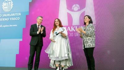 Premio Emakunde a la Igualdad a la actriz y clown Virginia Imaz 2018