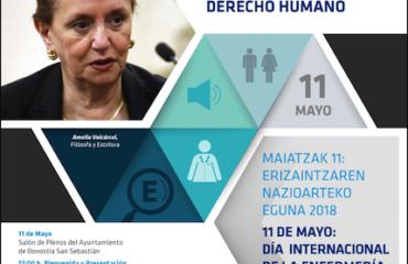 IMAGEN: Cartel del Día Internacional de la Enfermería en Gipuzkoa