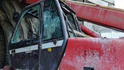 Sabotaje contra las obras del Topo en Donostia